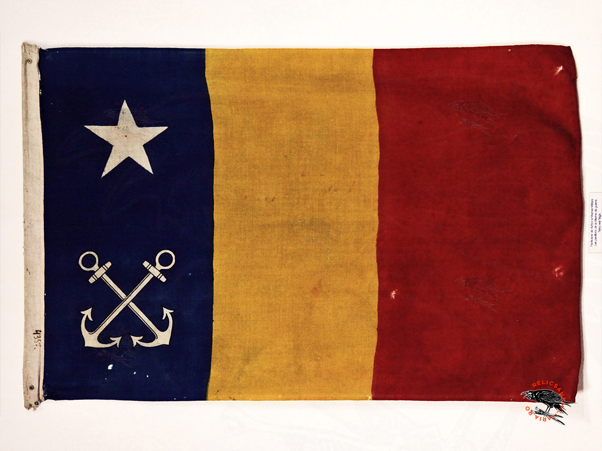 Romanian Navy flag world war