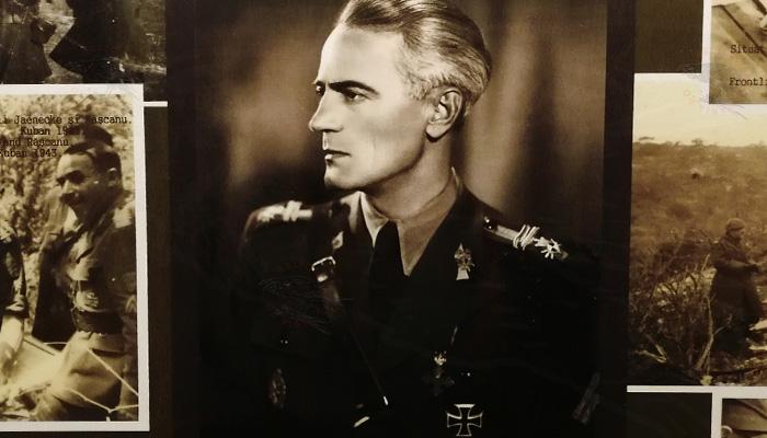 Vasile Scarneci Comandantul Batalionului 3 Vanatori de Munte