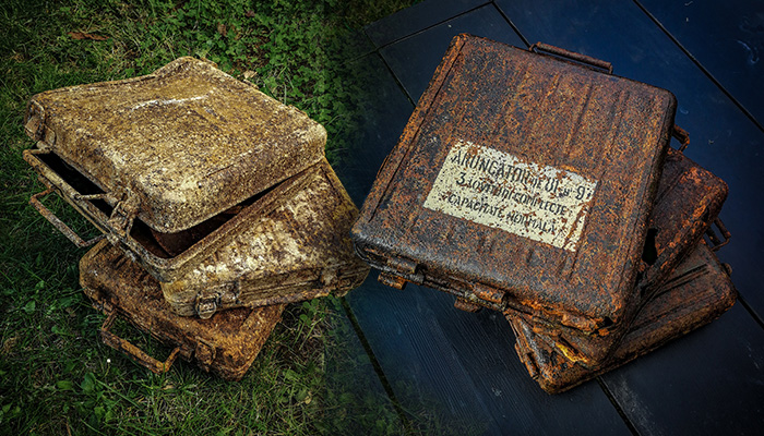 Cleaning Relics with oxalic acid
