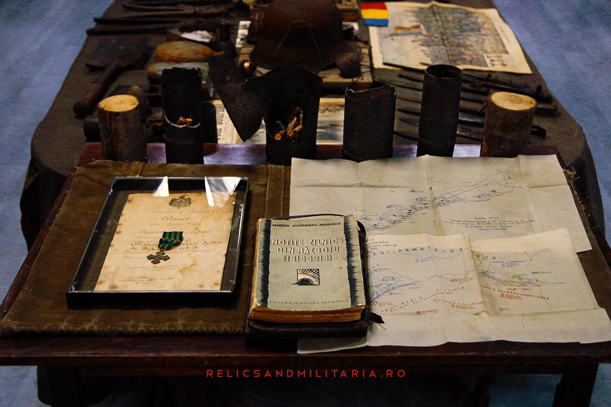 Expozitie harti si relicve primul razboi mondial