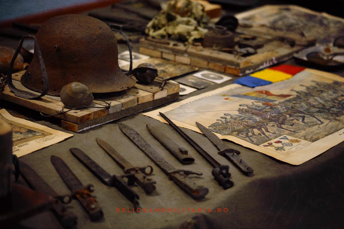Expozitie relicve primul razboi mondial