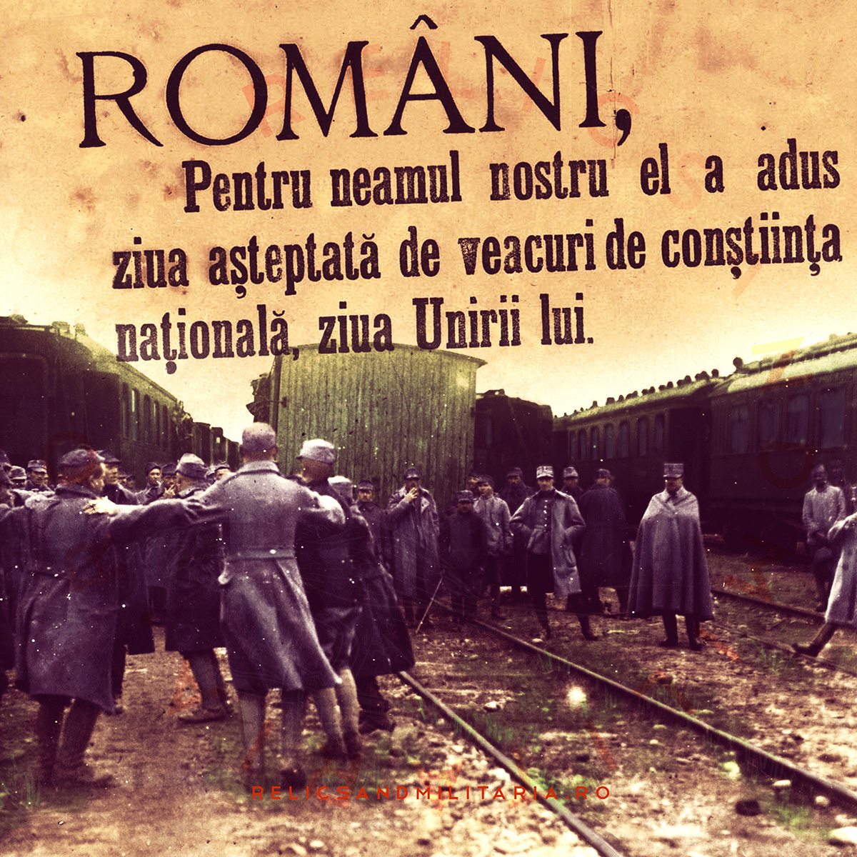 World War One ends, Romania is Unified