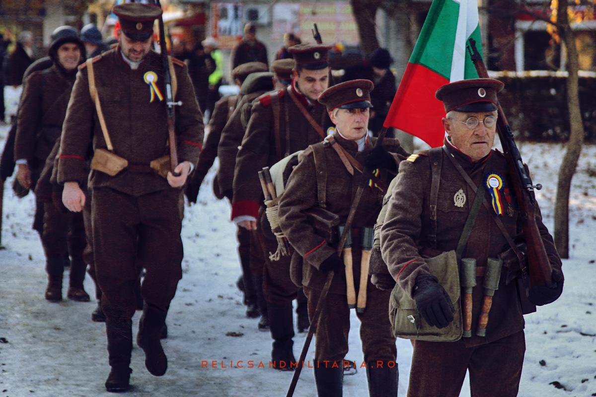 Romania Centenar - WW1 Reenactment in Fetesti Tradytsia Shumen