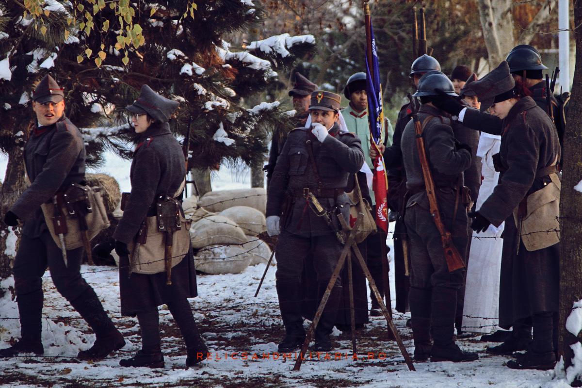 Romania Centenar - WW1 Reenactment in Fetesti - Asociatia Culturala Tomis
