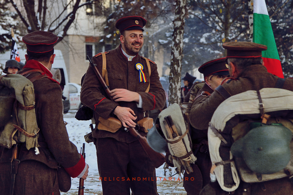 WW1 Reenactment in Fetesti Tradytsia Shumen