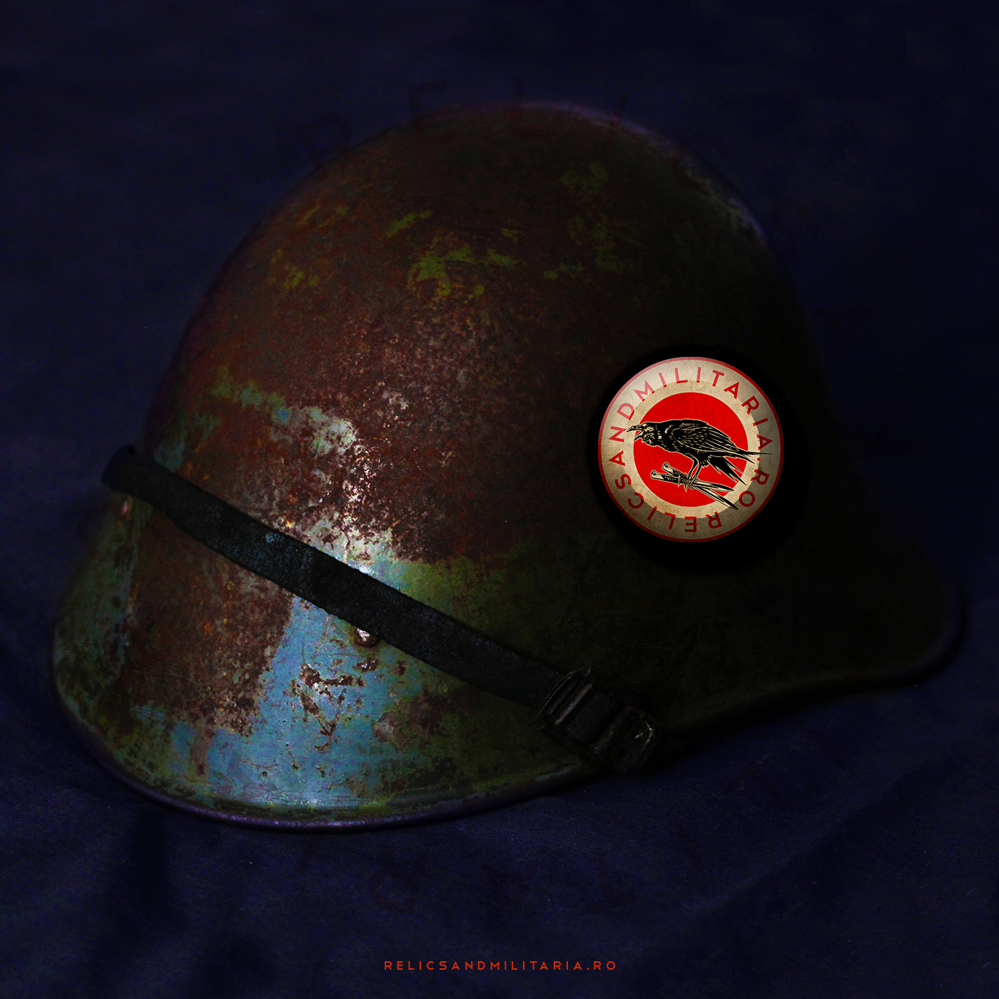 Dutch steel helmet used by the Romanian Army in ww2