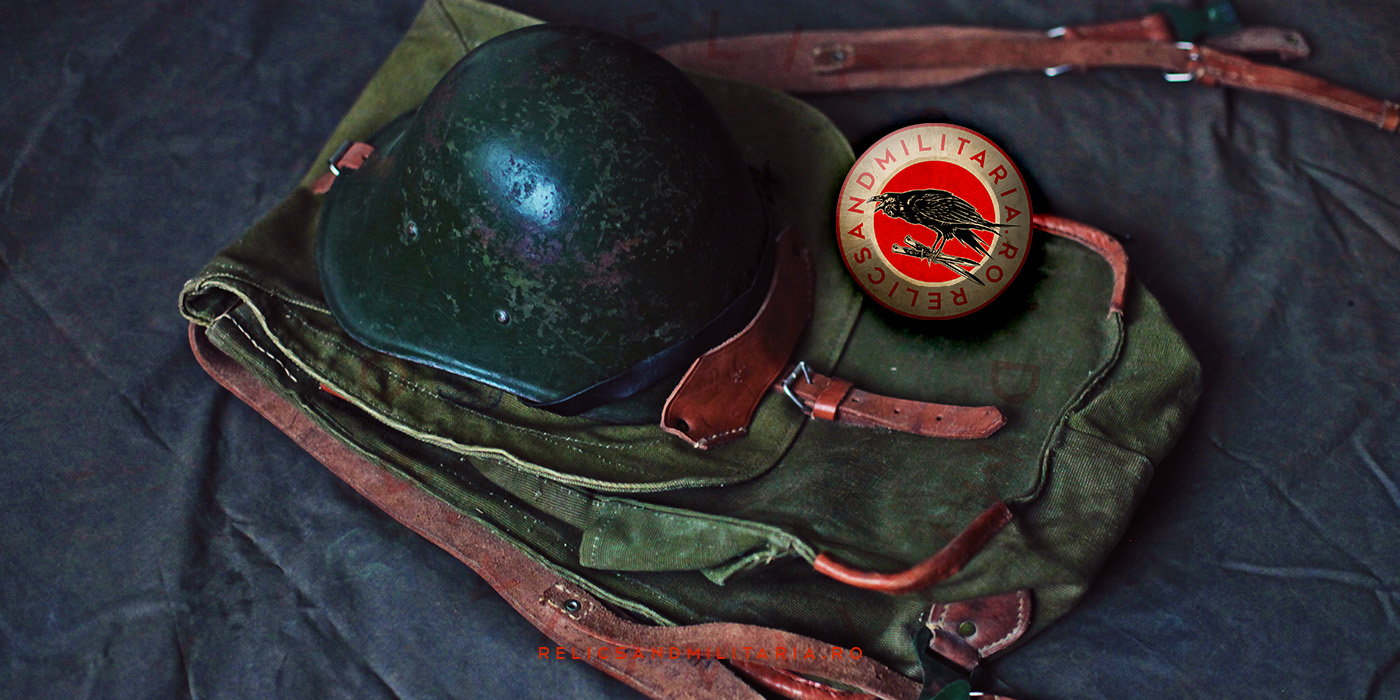 Romanian Army backpack used in World War Two