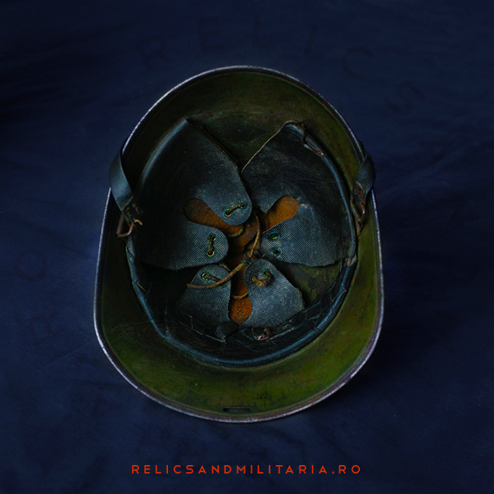 Original Dutch Liner of a m34 helmet used by the Romanian Army in ww2