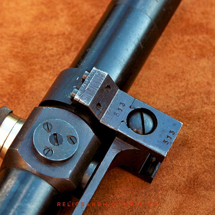 WW2 ZB.24 Sniper Rifle Romanian IOR Scope