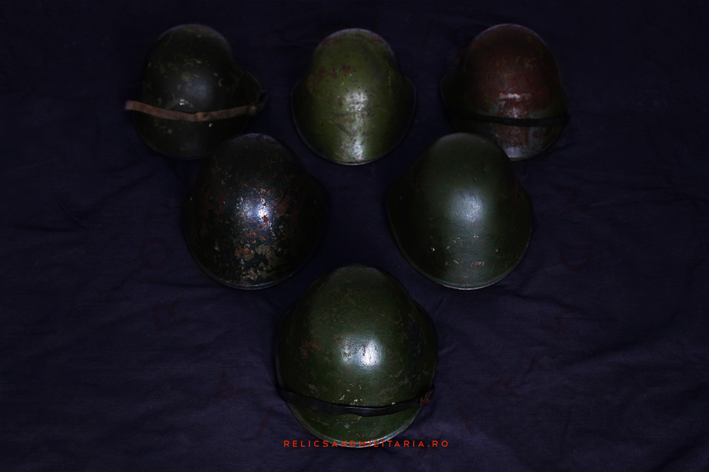 Dutch M34 steel helmet used by the Romanian Army in ww2