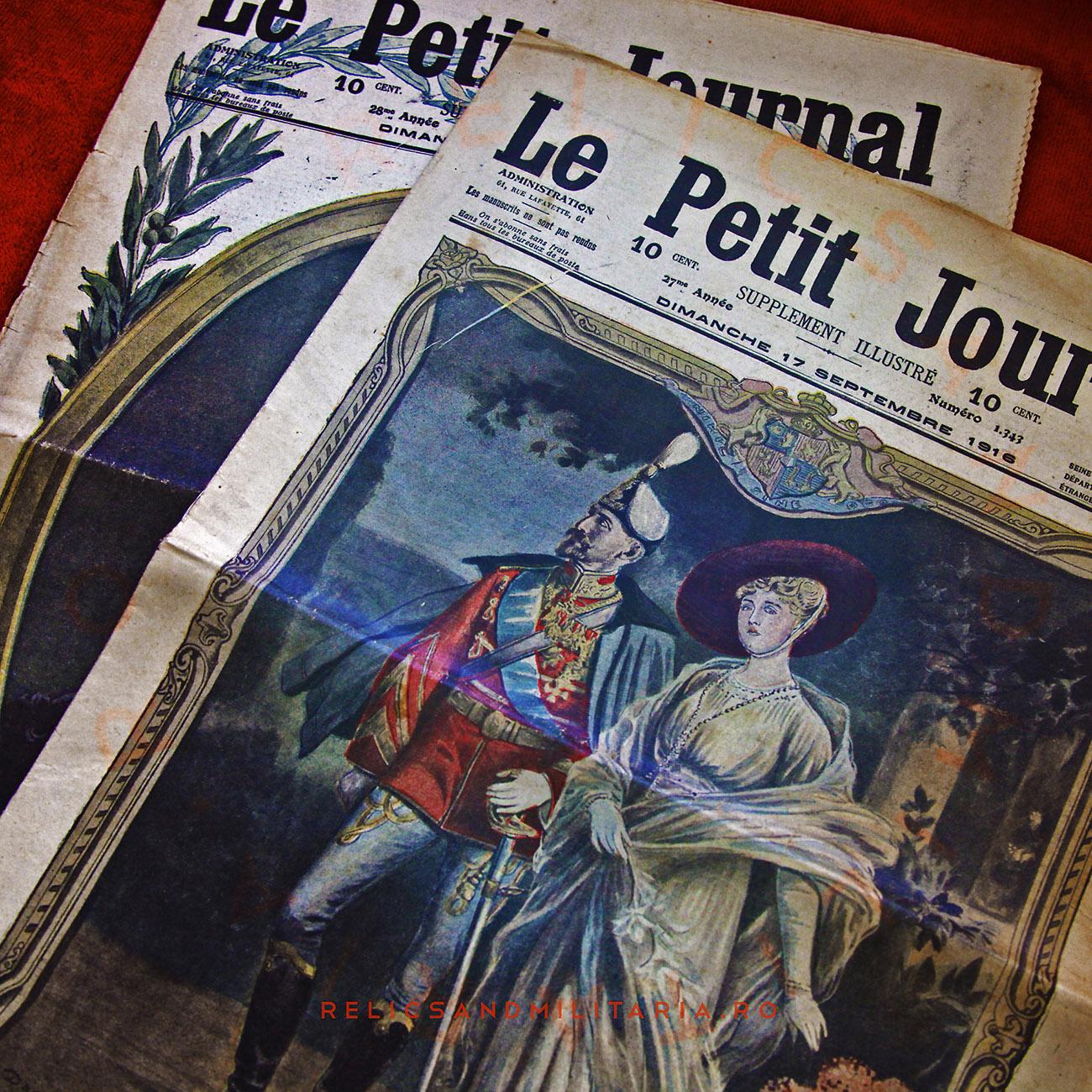 Le petit joural - - Le Roi et la reine de Roumanie