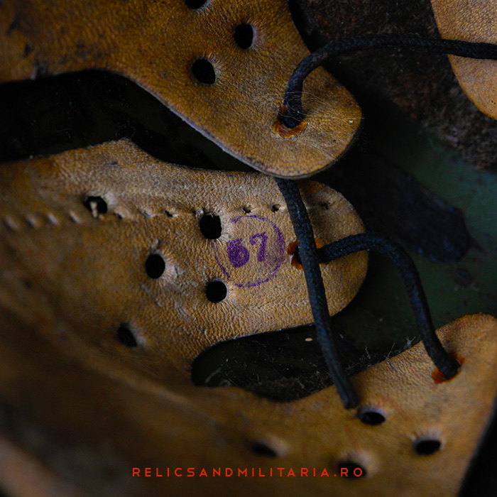 Markings and Stamps in the Dutch M34 Romanian Army World War 2 Helmet