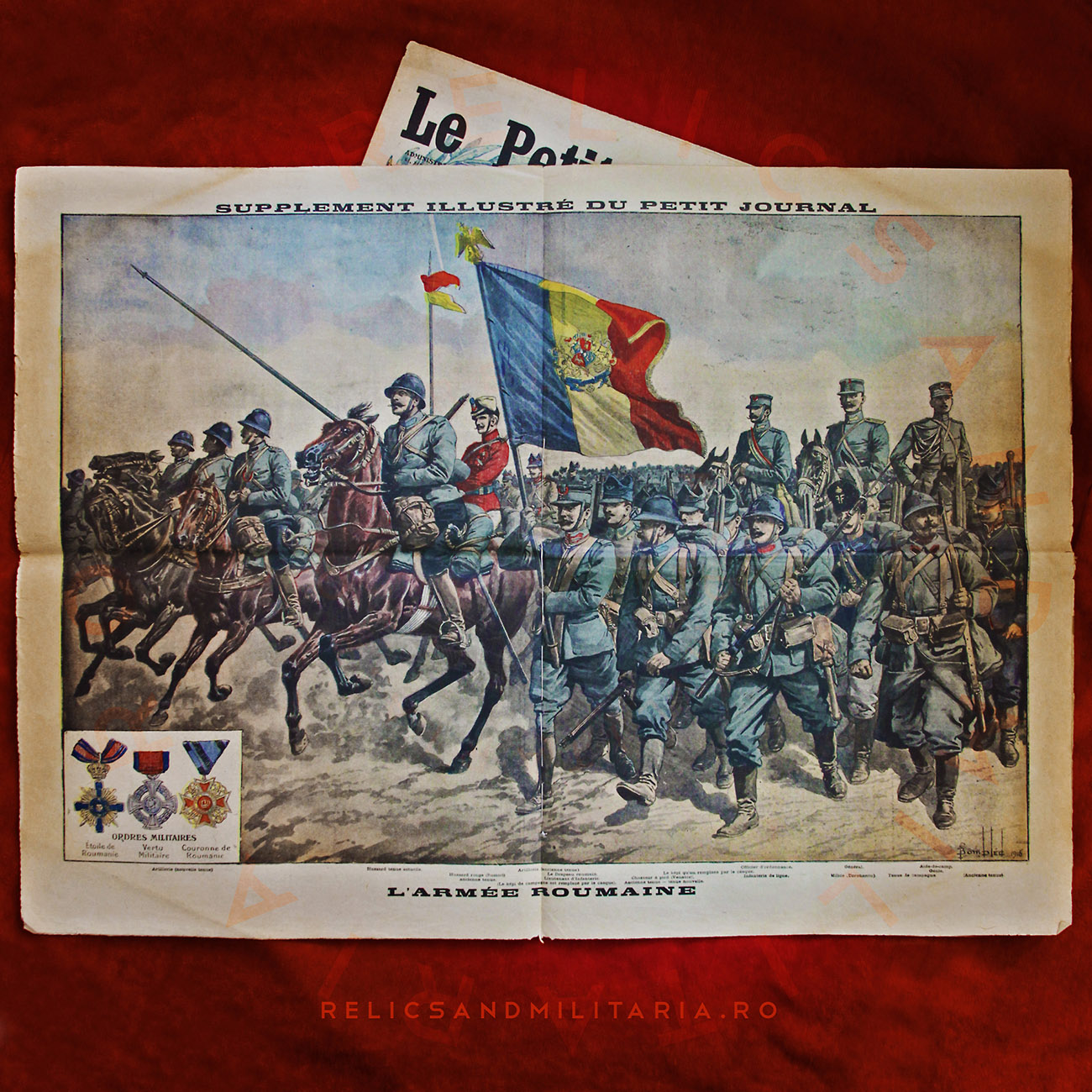 Le petit joural - Romanian Army