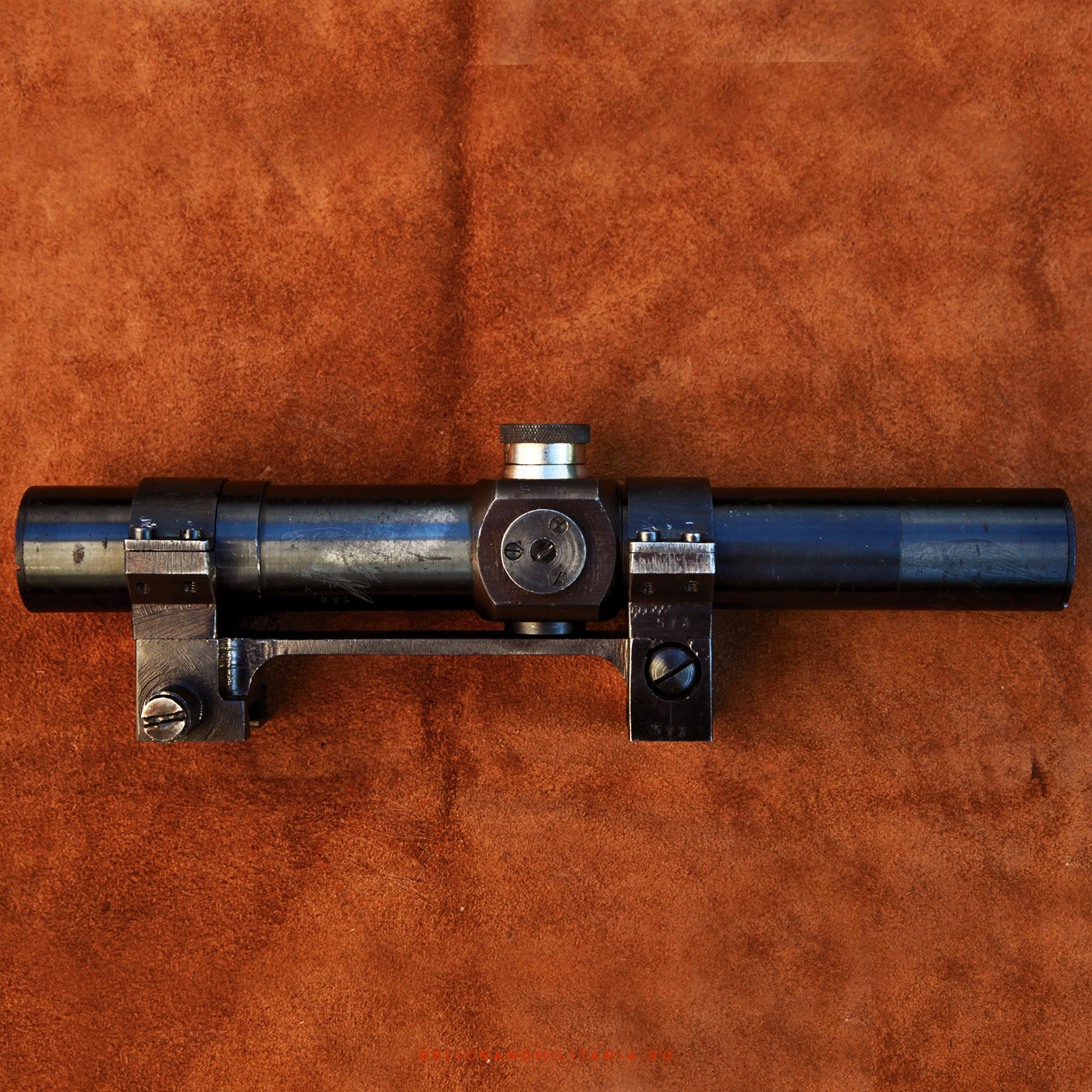 Romanian IOR Sniper scope for VZ.24 Rifle with original mounts and box