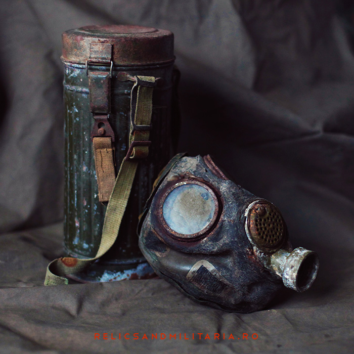 Md 39B Romanian ww2 Gas mask