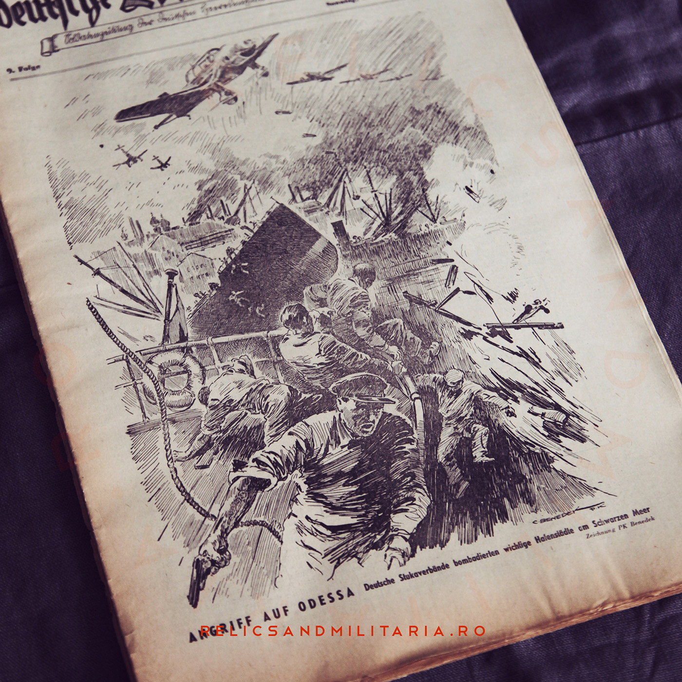 The German comrade. Soldier's newspaper of the German Army mission in Romania