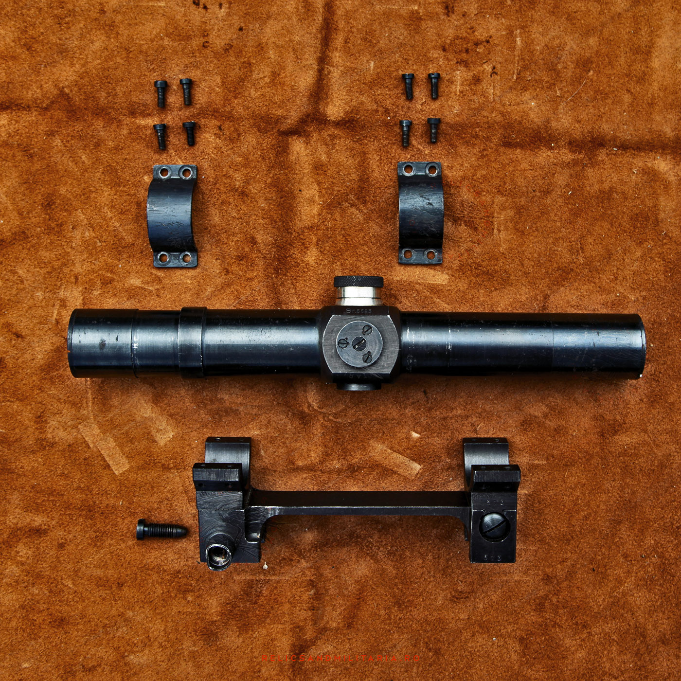ZB.24 Rifle Sniper scope Romanian IOR