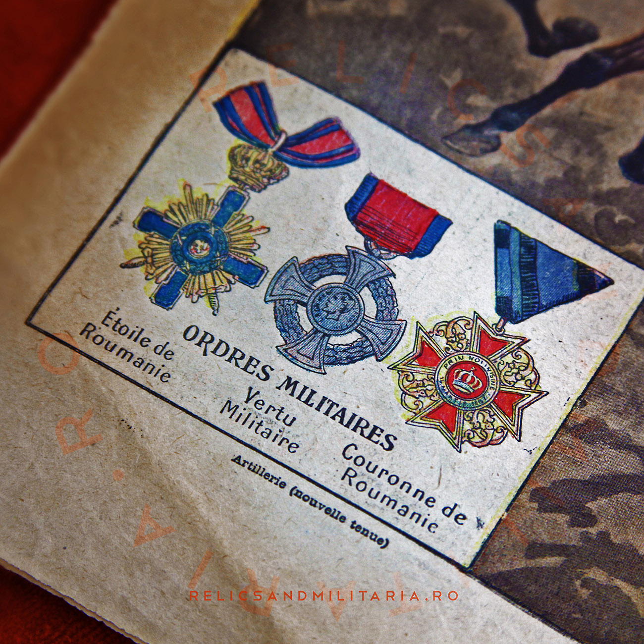 Romanian ww1 medals and decorations