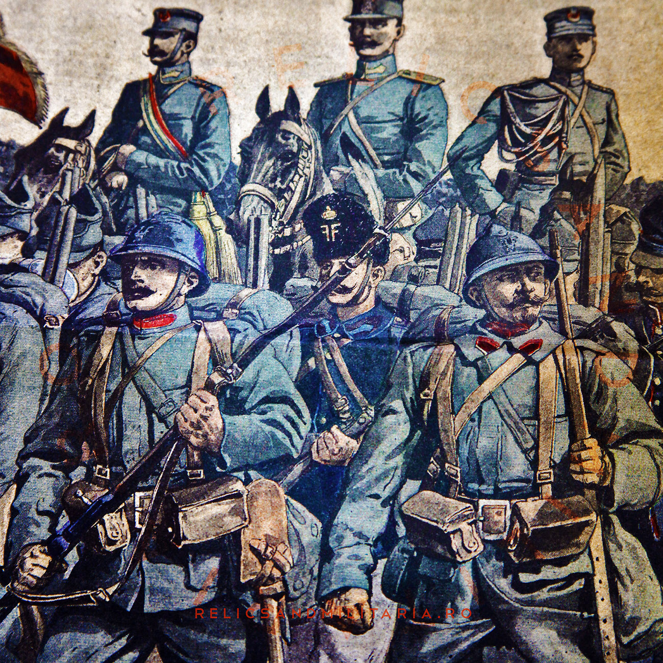 Romanian Army in world war one press