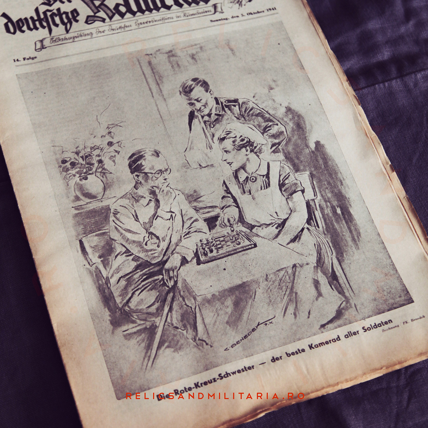 Der deutsche kamerad - ww2 newspaper