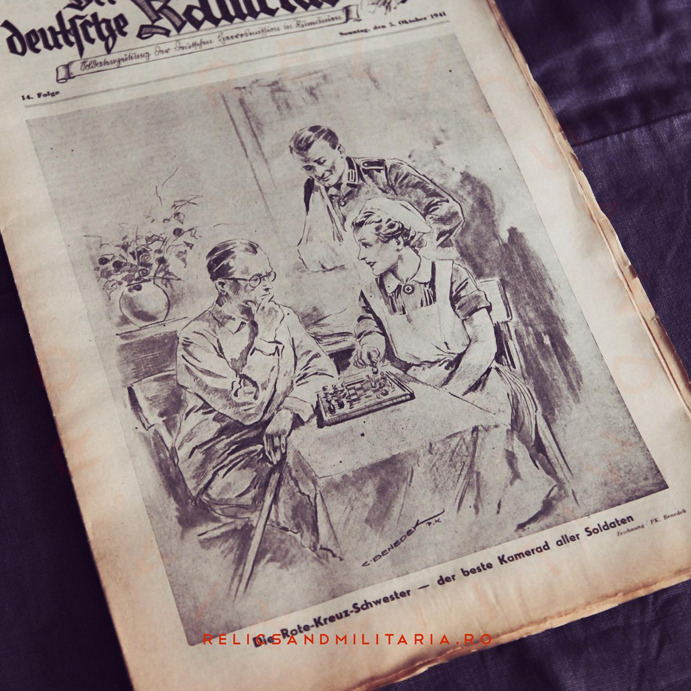 Der deutsche kamerad - ww2 newspaper