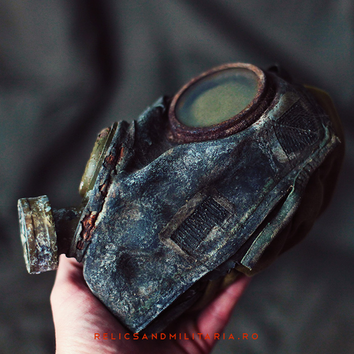 Romanian Md 39B ww2 Gas mask