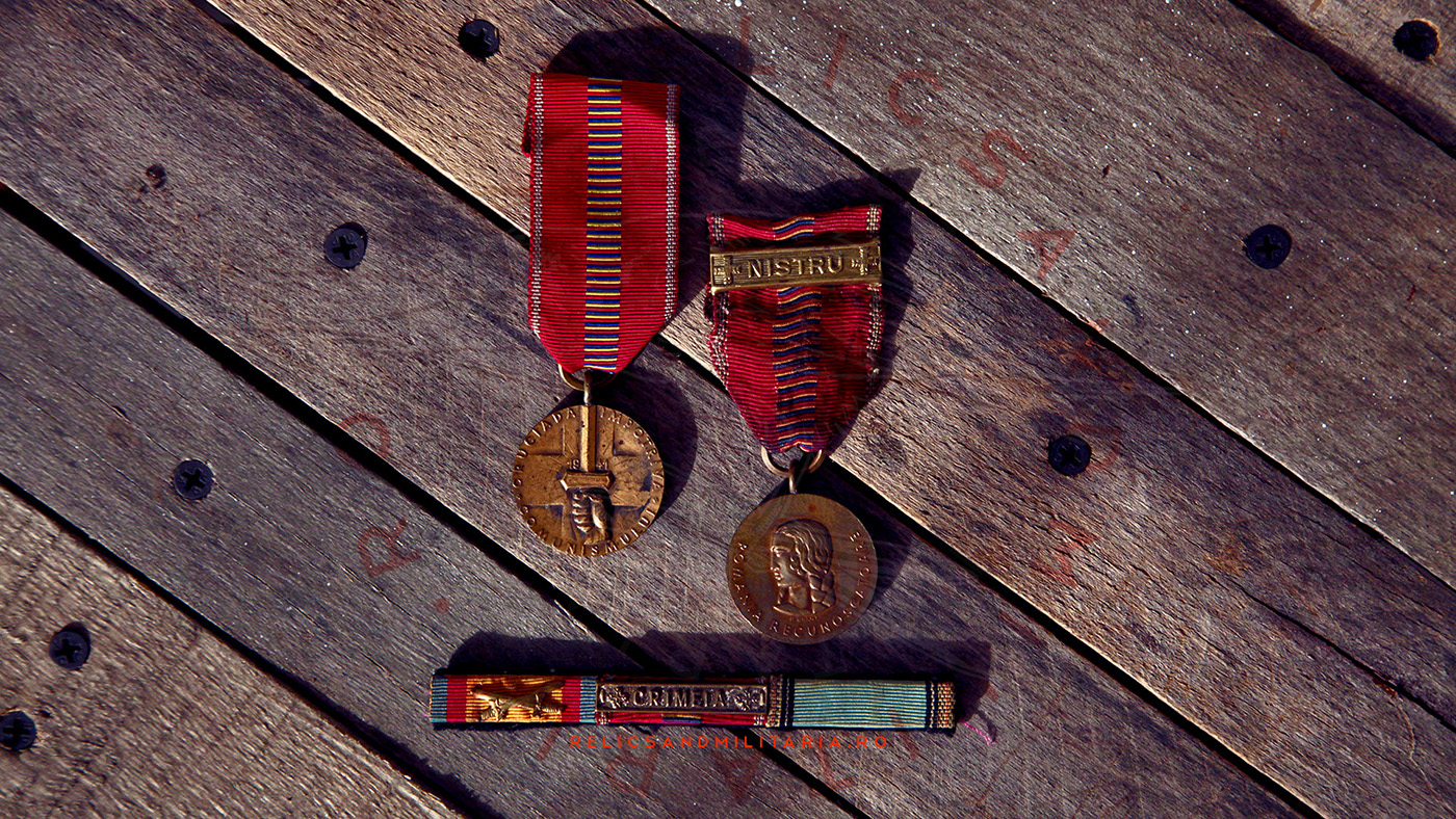 Crusade Against Communism medal for soldiers that took part to Operation Barbarossa