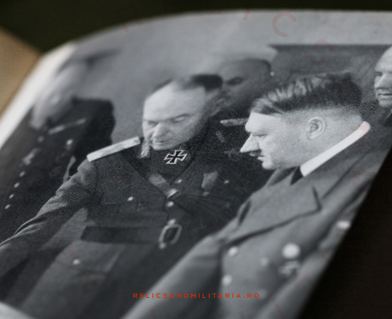Ion Antonescu and Hitler meeting