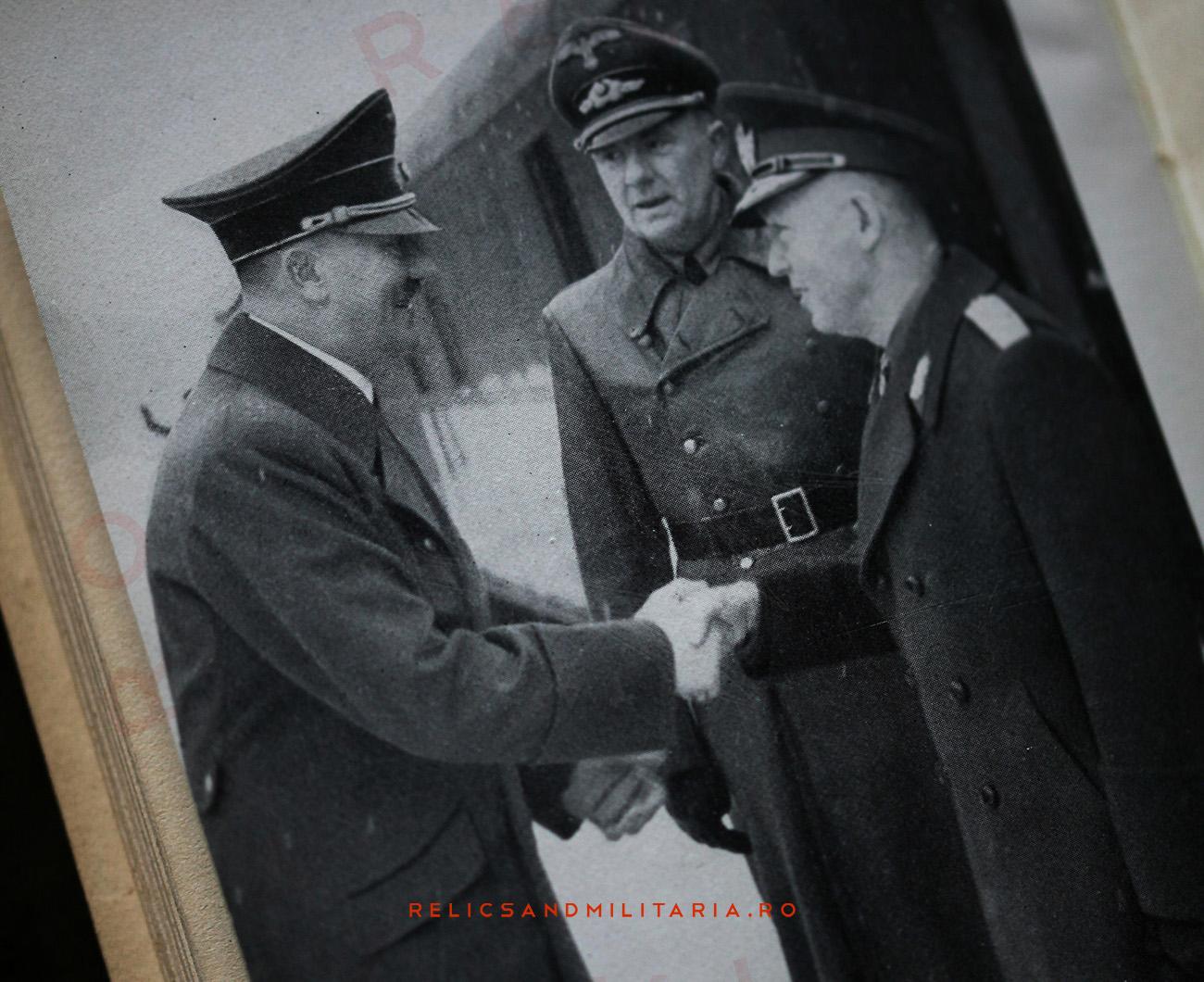 Ion Antonescu meeting Hitler