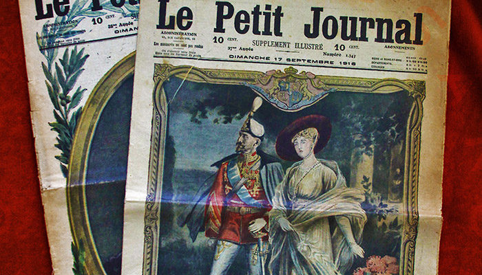 Le petit joural - articles about the Romanian Army in WW1 French press