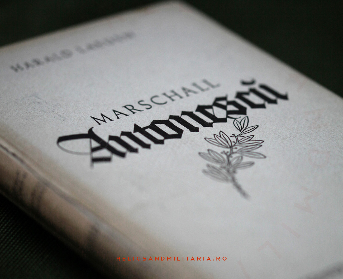 Marschall Ion Antonescu - Harald Laeuen book