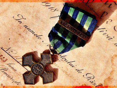 Romanian World War One Commemorative Cross Medal