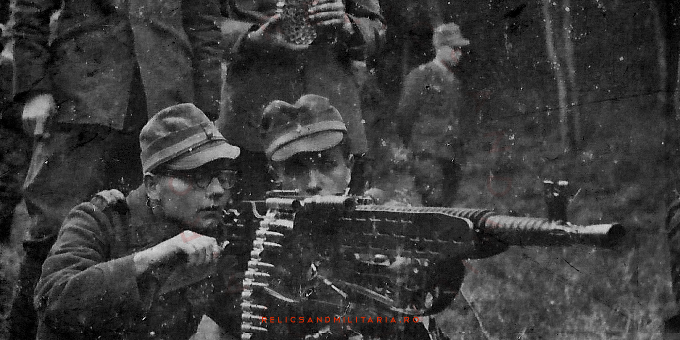 Romanian Army with vz zb 37 in ww2