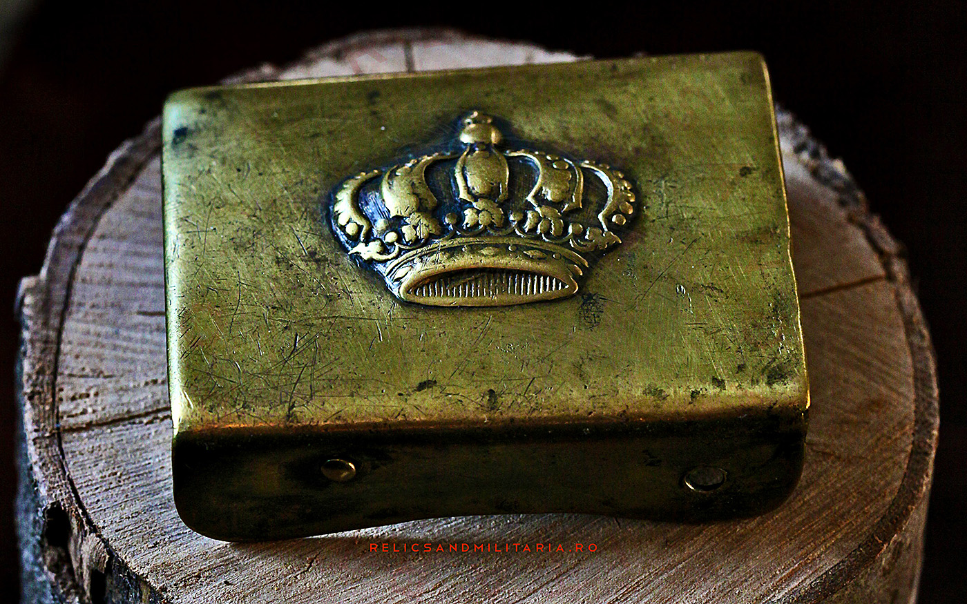 Romanian World War 2 Royal Crown belt buckle