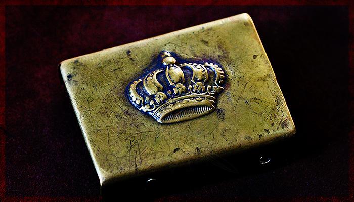 Romanian World War 2 Royal Crown belt buckle