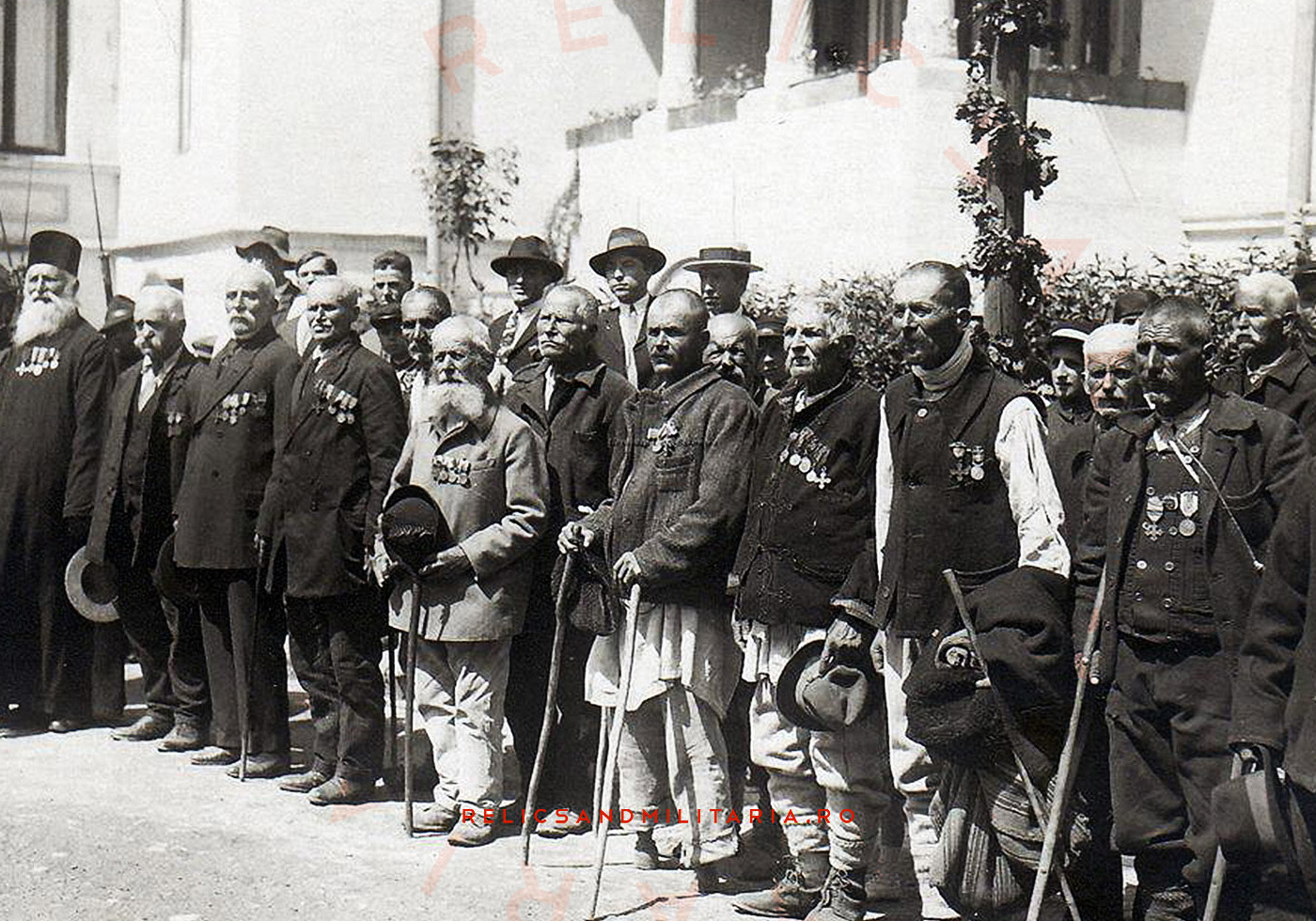 Romanian World War One veterans