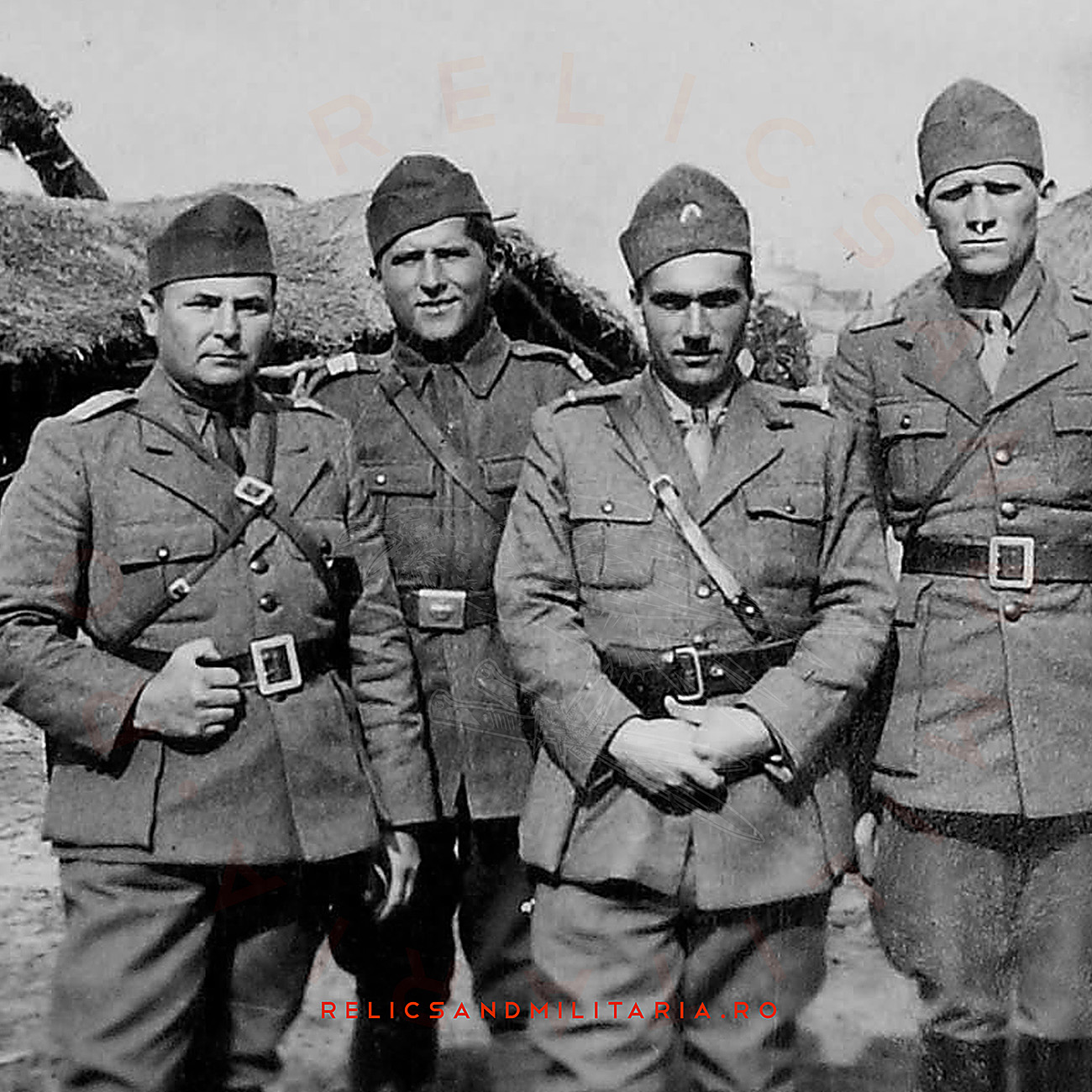 Romanian world war 2 Militaria Royal Crown belt buckle