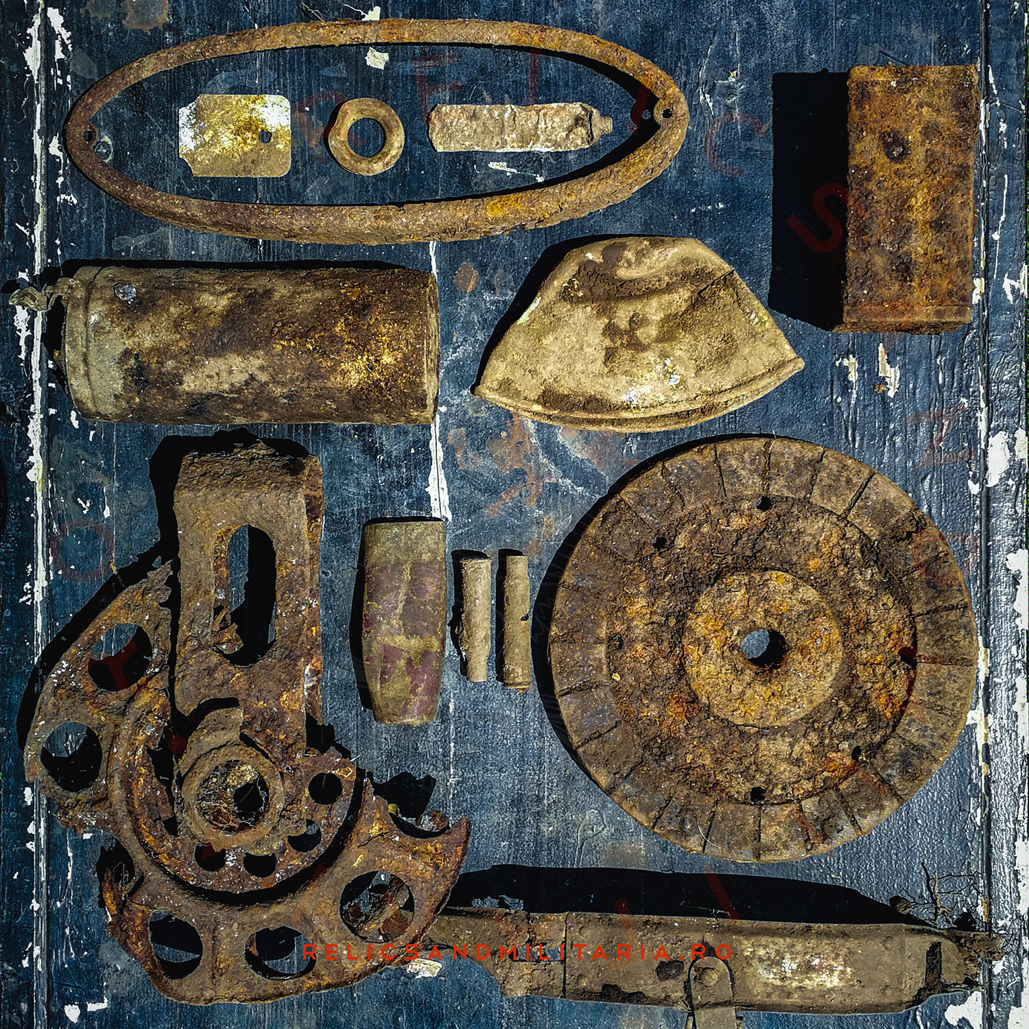 Metal detecting in Romania after Wehrmacht relics
