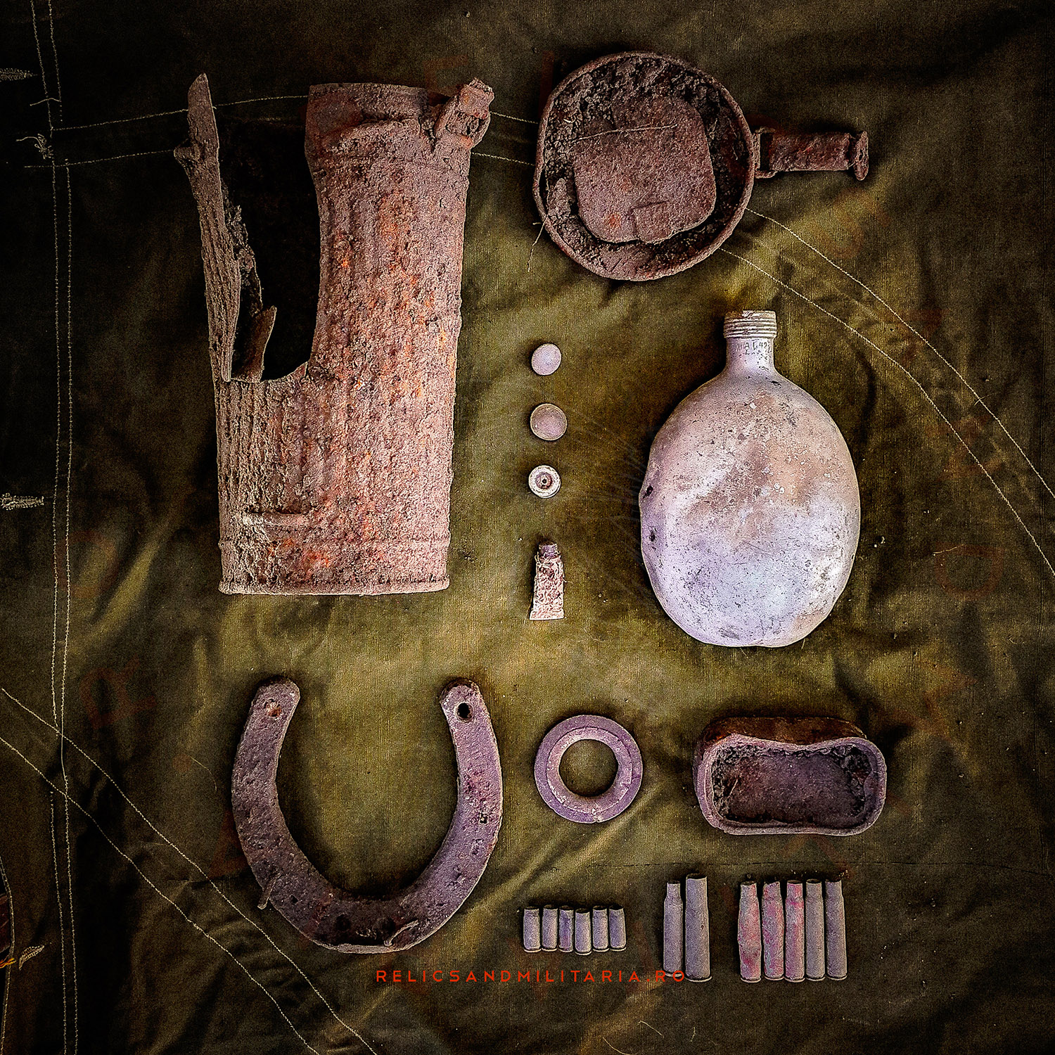 Wehrmacht relics found Metal detecting in Romania