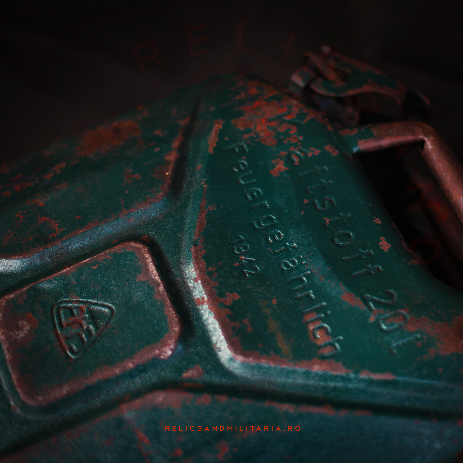 German Wehrmach Petrol Jerry Can 1942