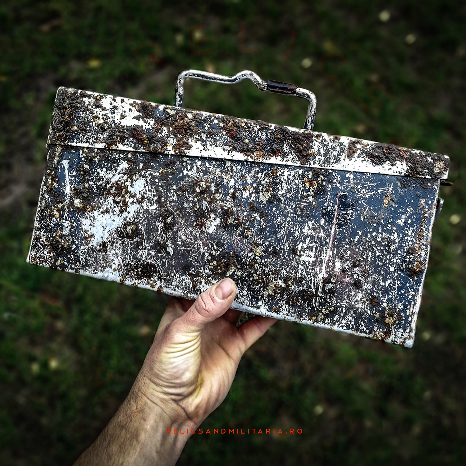 WW2 German MG 34 42 aluminium ammo box