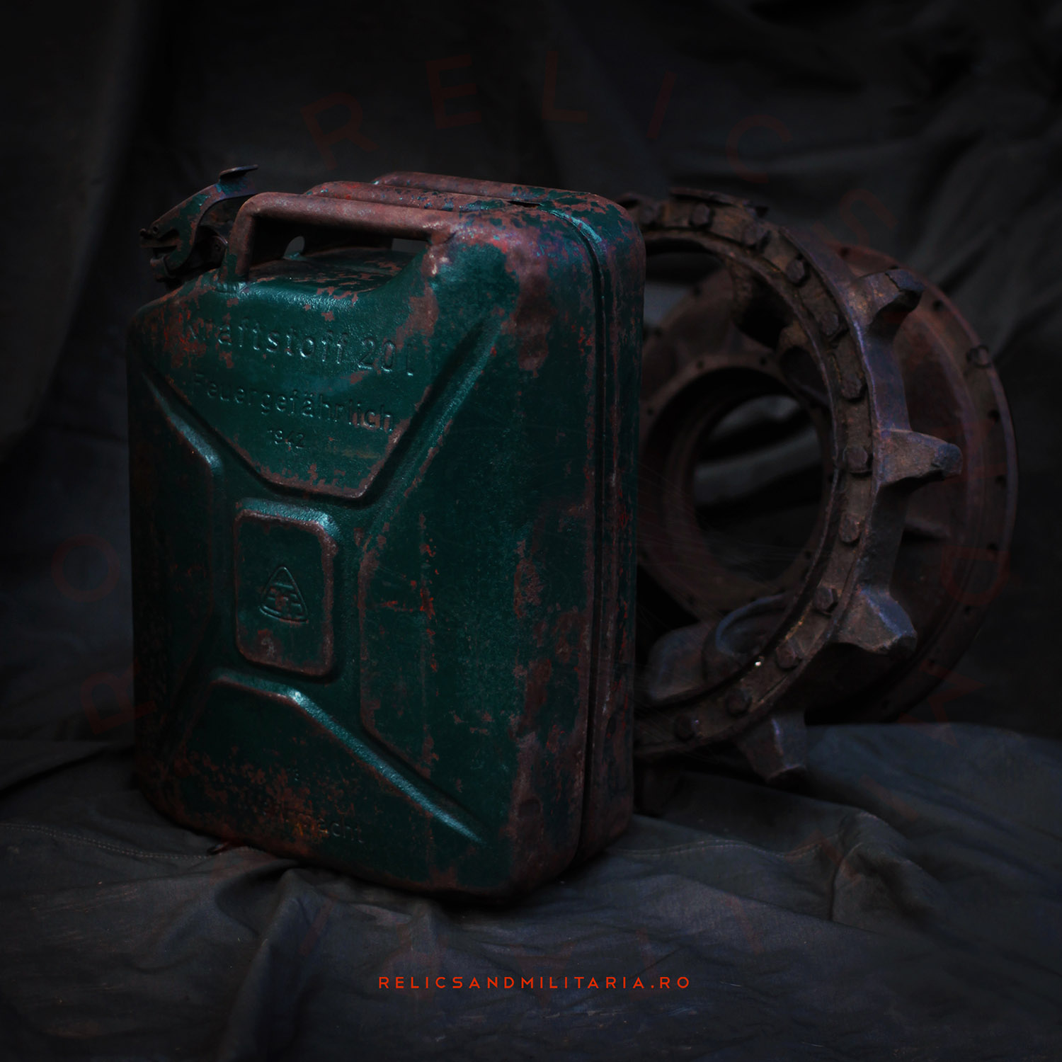 WWII Wehrmacht Petrol Jerry Can