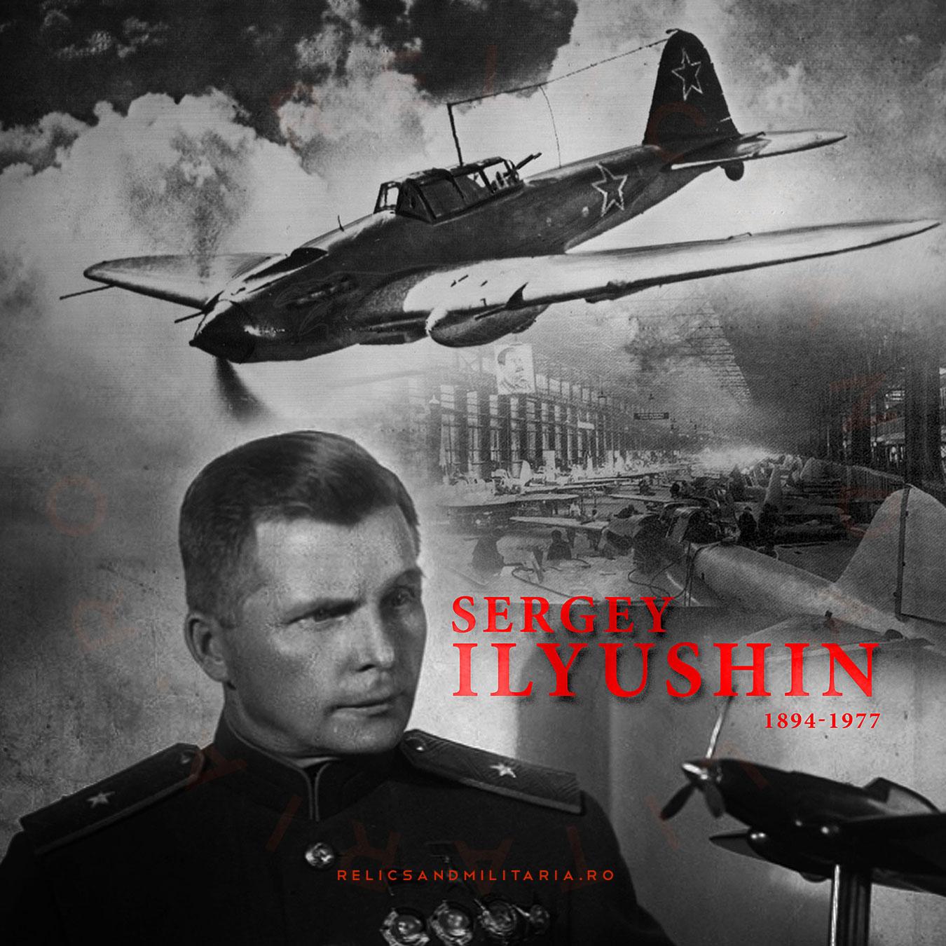 Sergey Vladimirovich Ilyushin - creator of Ilyushin Il-2 Shturmovik