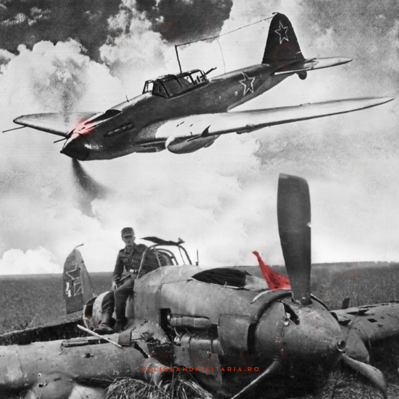 Ilyushin Il-2 Shturmovik Russian ww2 ground-attack aircraft