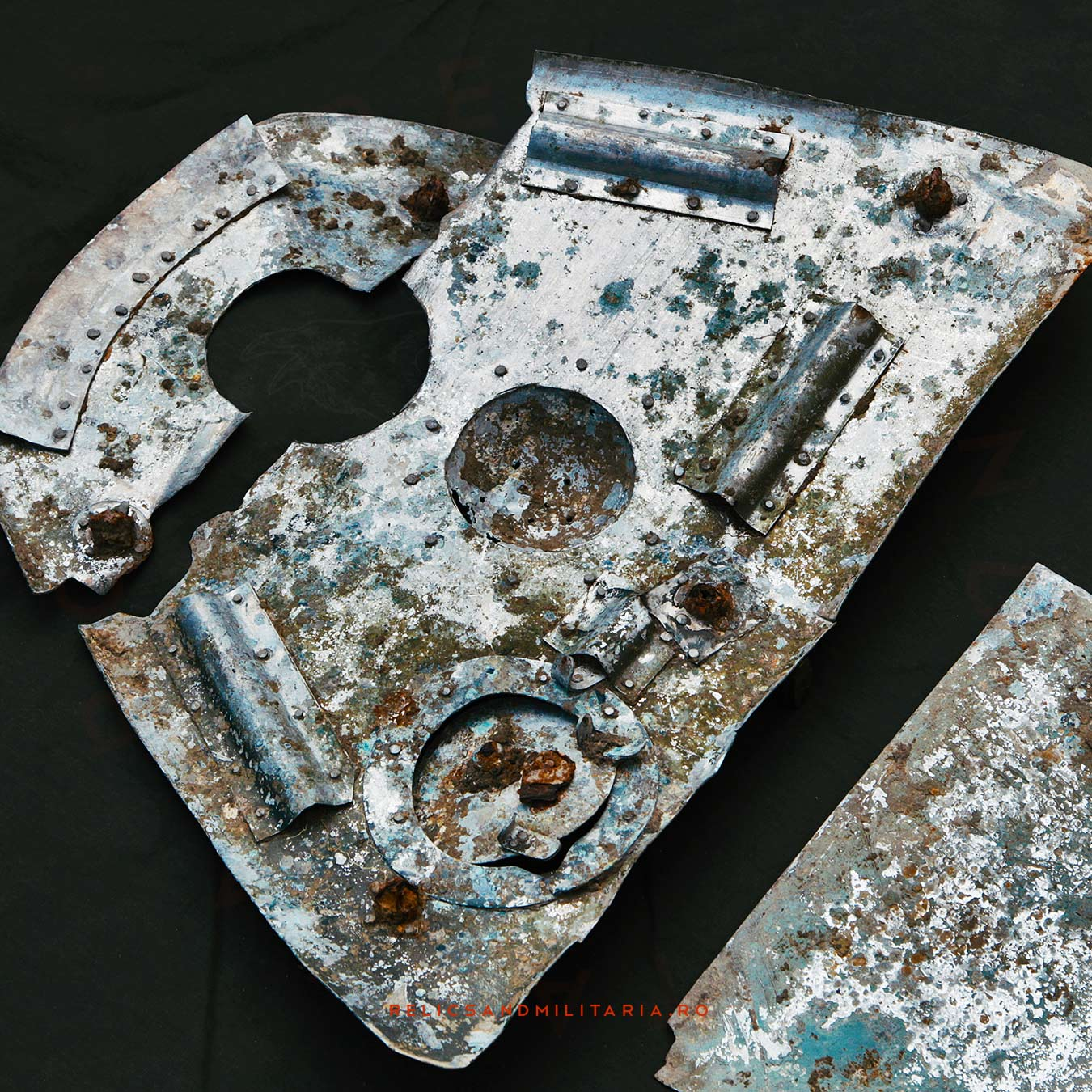 Ilyushin Il-2 Shturmovik relics found in Romania fallen in 1944 during Targu Frumos battle
