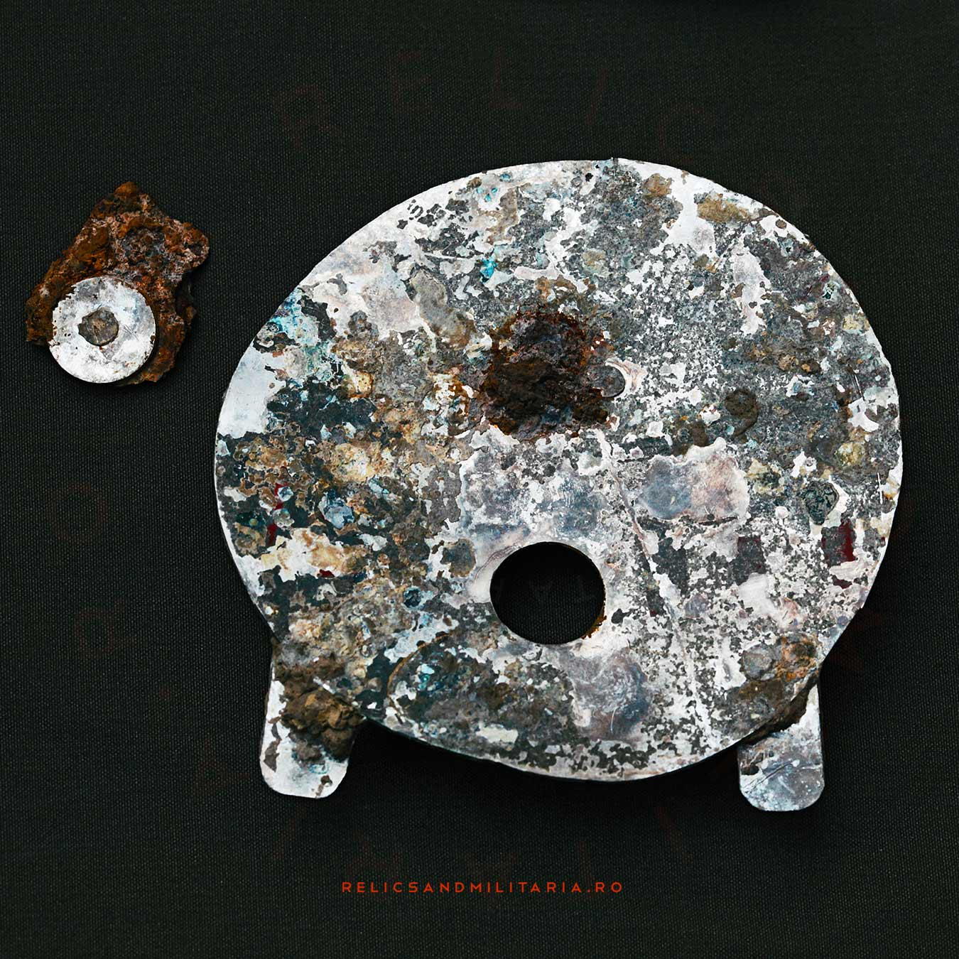 Ilyushin Il-2 Shturmovik relics parts found in Romania while metal detecting