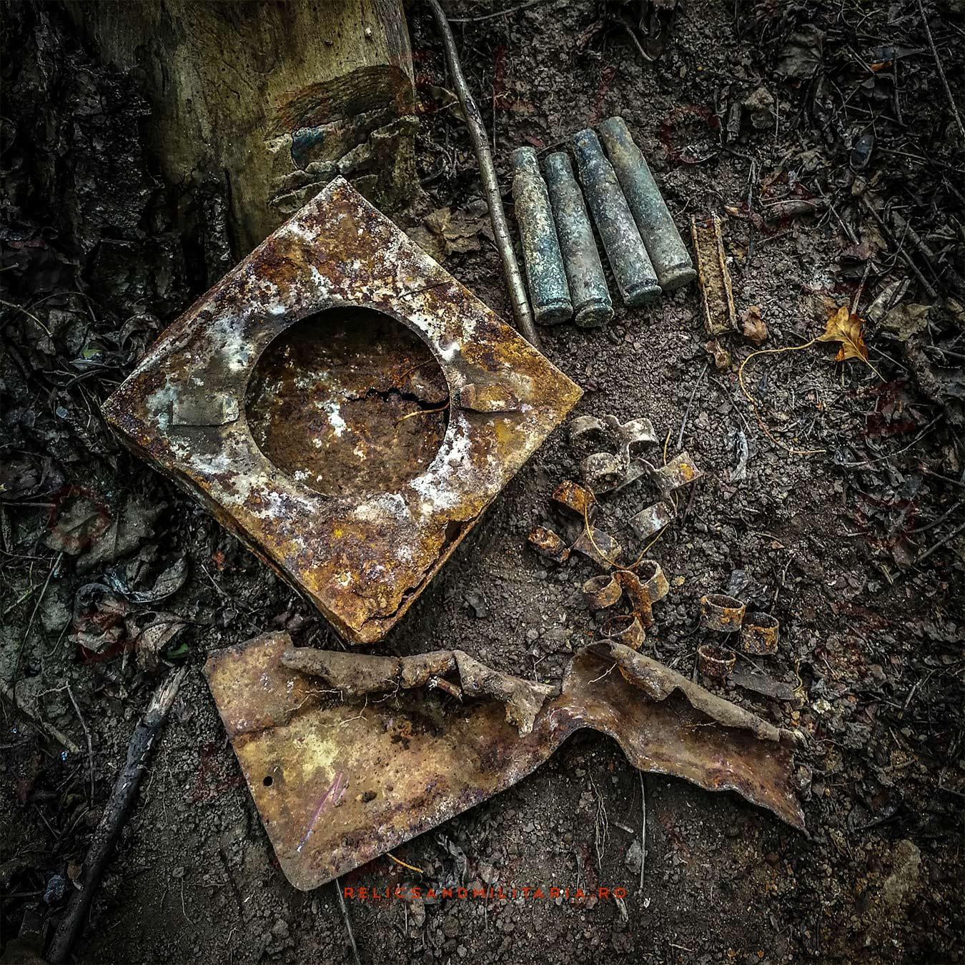 Metal detecting in Romania ww2 battlefields