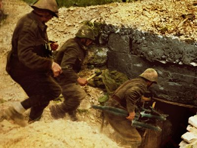 COLORIZED PHOTOS OF THE ROMANIAN ARMY IN WORLD WAR TWO
