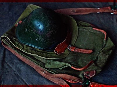 Romanian Army backpack ww2 militaria