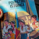 Romanian Communist Party propaganda book for kids adout ww2
